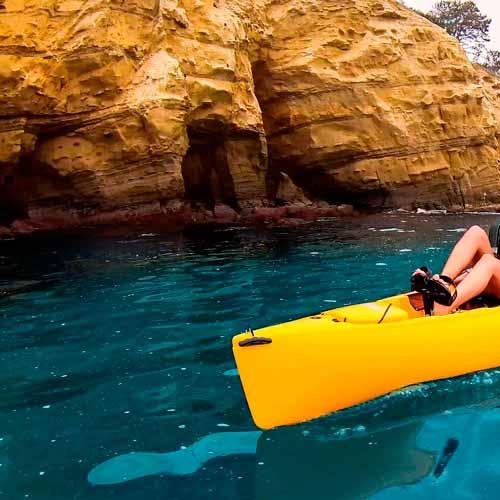Aluguel de kayak