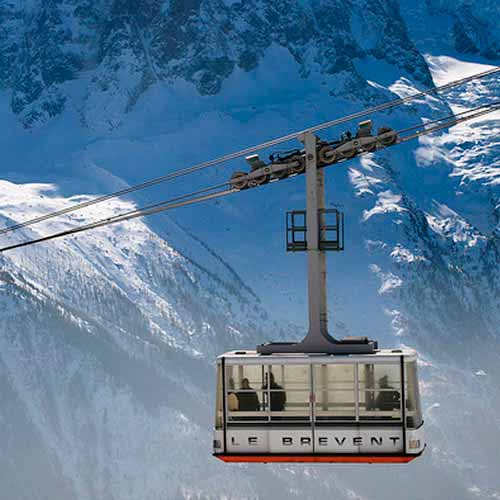 Le Brevent Cable Car
