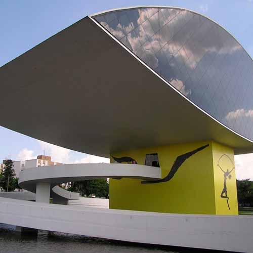 Museu Oscar Niemeyer (Museu do Olho)