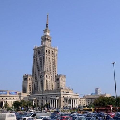 Palácio da Cultura e da Ciência - terraço