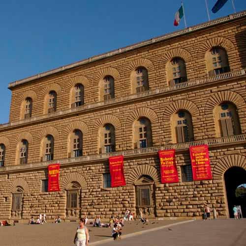 Galeria de arte moderna - Palácio Pitti