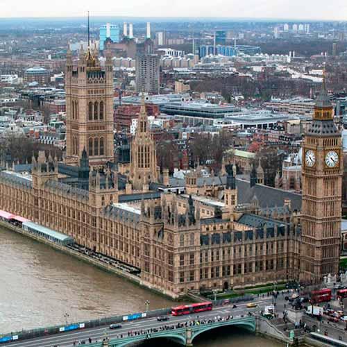 Visita ao Parlamento
