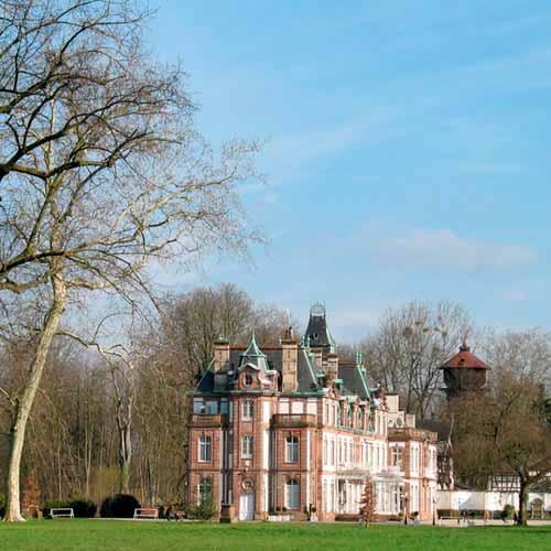 Parc du Chateau de Pourtalès
