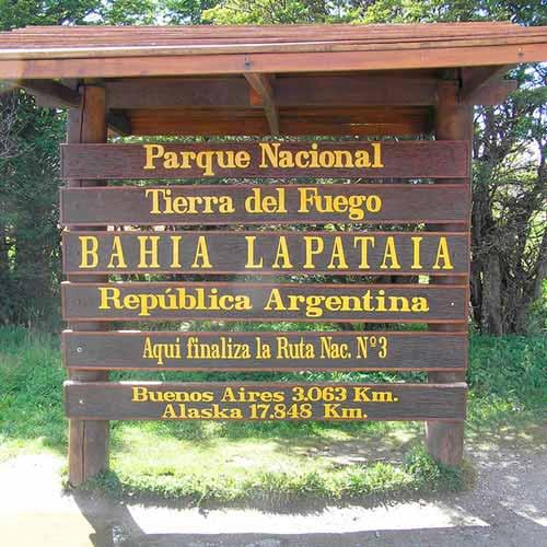 Parque Nacional Tierra del Fogo