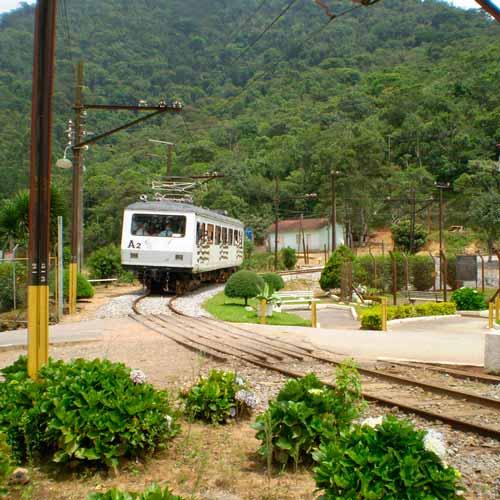 Passeio de Trem (ida/volta) até a cidade Sto Antônio do Pinhal