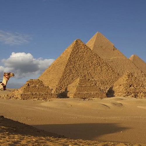 Pirâmides de Gizé + Esfinge