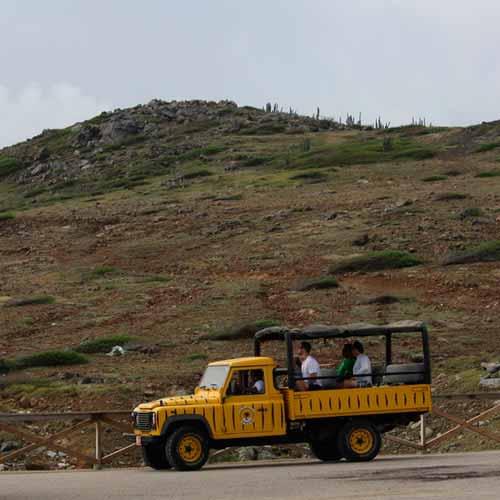 Safari pela ilha