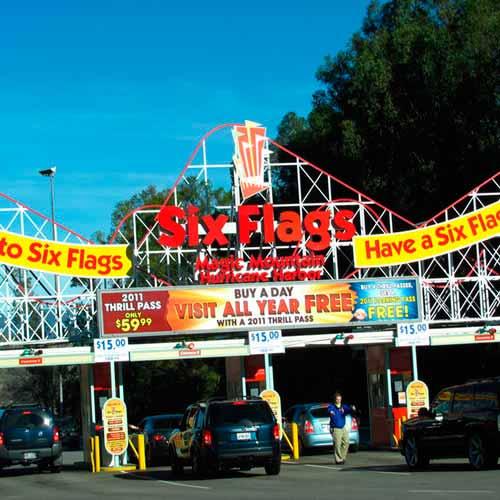 Parque Six Flags