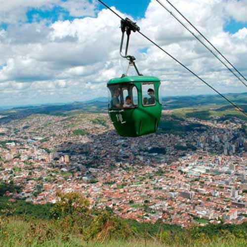 Teleférico e Serra São Domingos