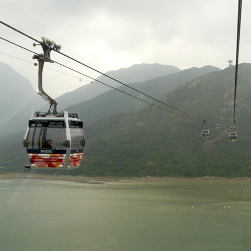 Teleférico Ngong Ping 360