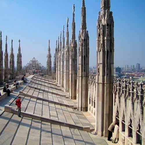 Terraço Catedral de Milão