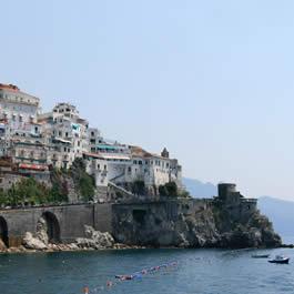 Quanto custa viajar para Amalfi