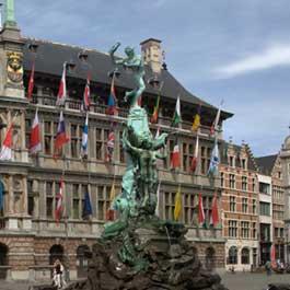 Quanto custa viajar para Antuérpia