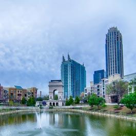 Quanto custa viajar para Atlanta