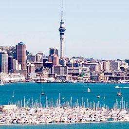 Quanto custa viajar para Auckland