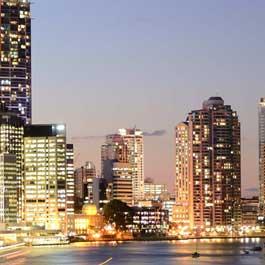 Quanto custa viajar para Brisbane