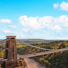 Quanto custa viajar para Bristol