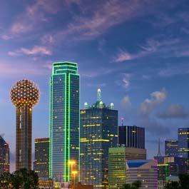 Quanto custa viajar para Dallas