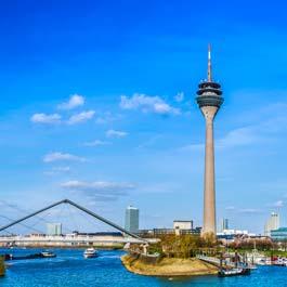 Quanto custa viajar para Düsseldorf