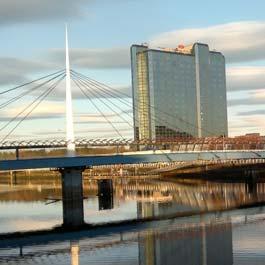 Quanto custa viajar para Glasgow