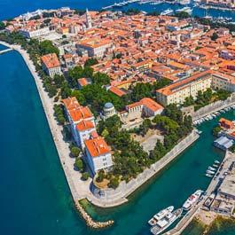 Quanto custa viajar para Zadar