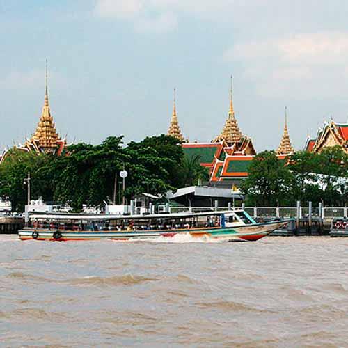 Tour de barco por Bangkok