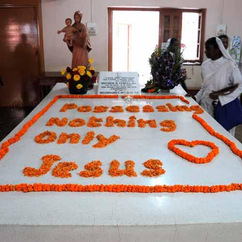 Casa de Mãe Tereza de Calcutá (tumba)